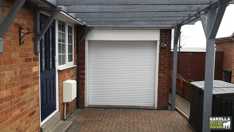White Roller Garage Door In 2020 Garage Doors Garage Door Design Garage Doors Prices