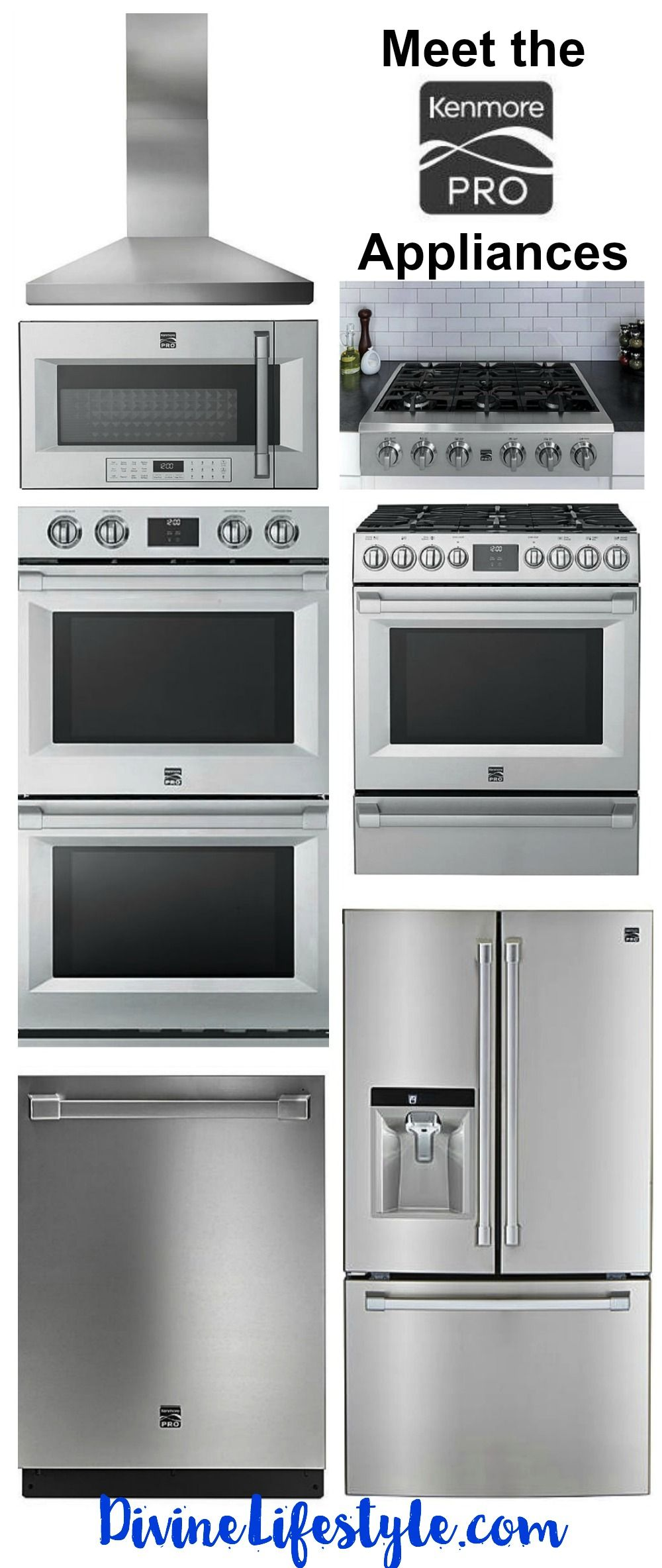 Building The Kitchen Of Your Dreams Do Yourself A Favor And Checkout The Kenmore Pro Line Of Appliances Sleek Wall Oven Kitchen Wall Oven Kitchen Appliances