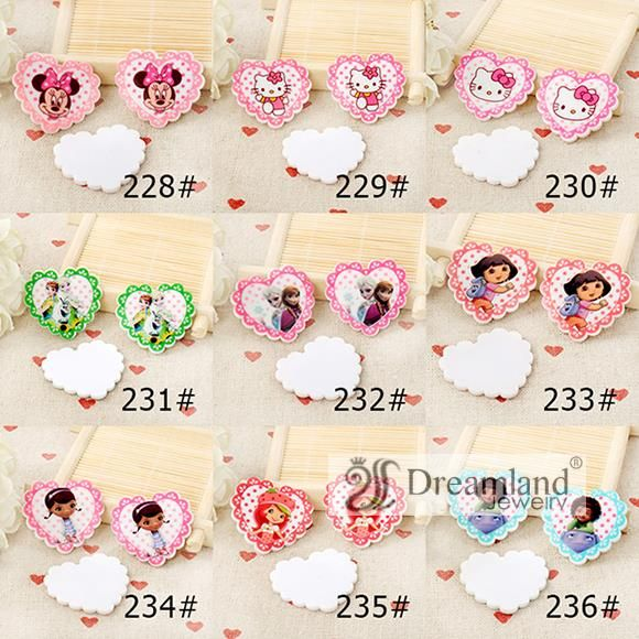 Find More Resin Crafts Information about 45pcs/lot  35MM*32MM  fashion DIY accessories heart shaped flat back planar resin princess and cartoon characters 9 styles mixed,High Quality character toy,China character bedding Suppliers, Cheap character clothing from Dreamland Fashion Jewelry on Aliexpress.com