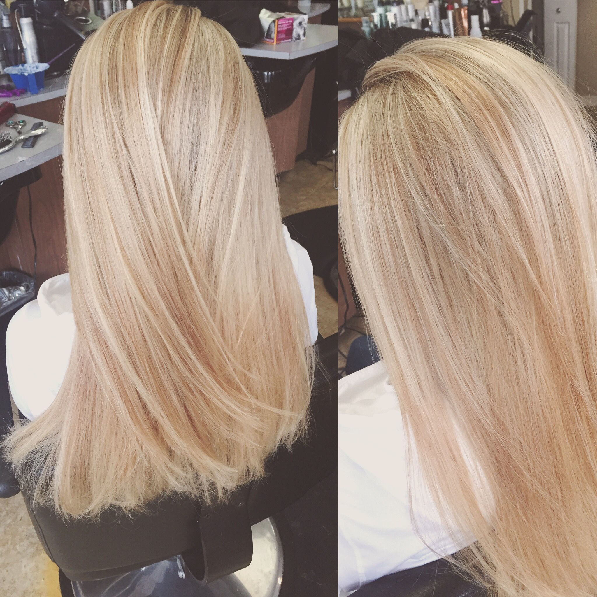 Bright Blonde Foil With A Light Honey Undertone Blonde Foils