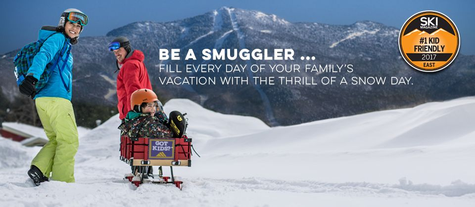 Be A Smuggler Fill Every Day Of Your Family S Vacation With The Thrill Of A Snow Day Kid Friendly Resorts Winter Vacation Family Resorts