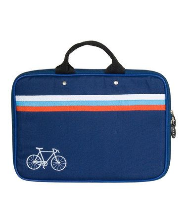 Netbook bag for your favorite cyclist. by danica studios on #zulily