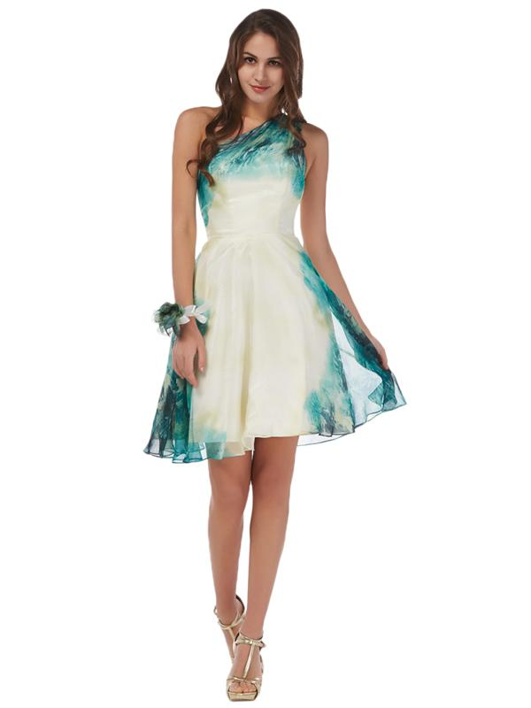 72a92e9da18 Laceshe Women s Gorgeous Green Gradient Bridesmaid Dress