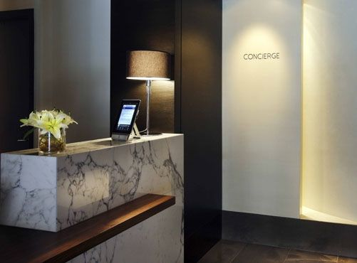 Concierge Desk at The Dupont Hotel | product - counters ...
