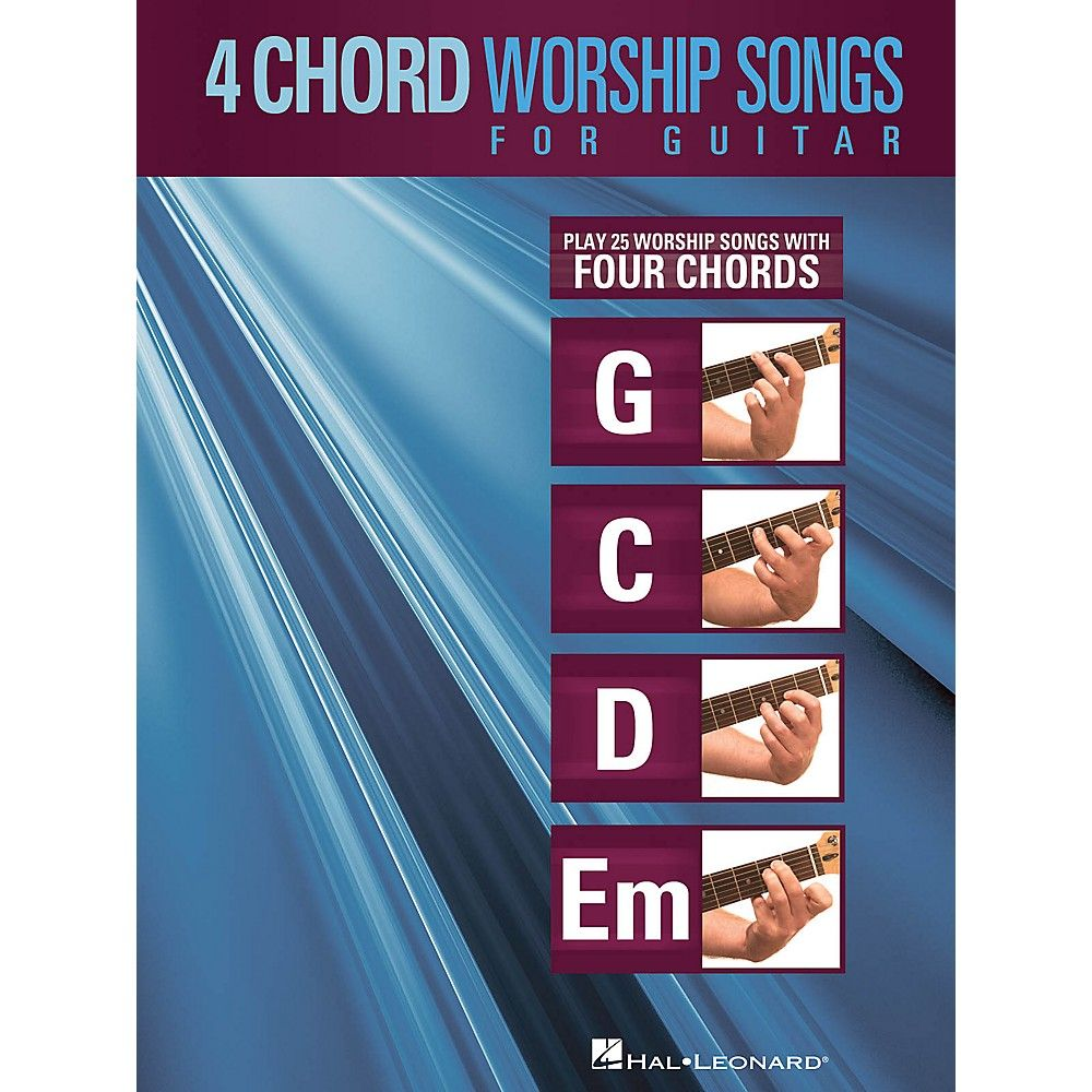 Hal Leonard 4 Chord Worship Songs For Guitar Guitar Collection