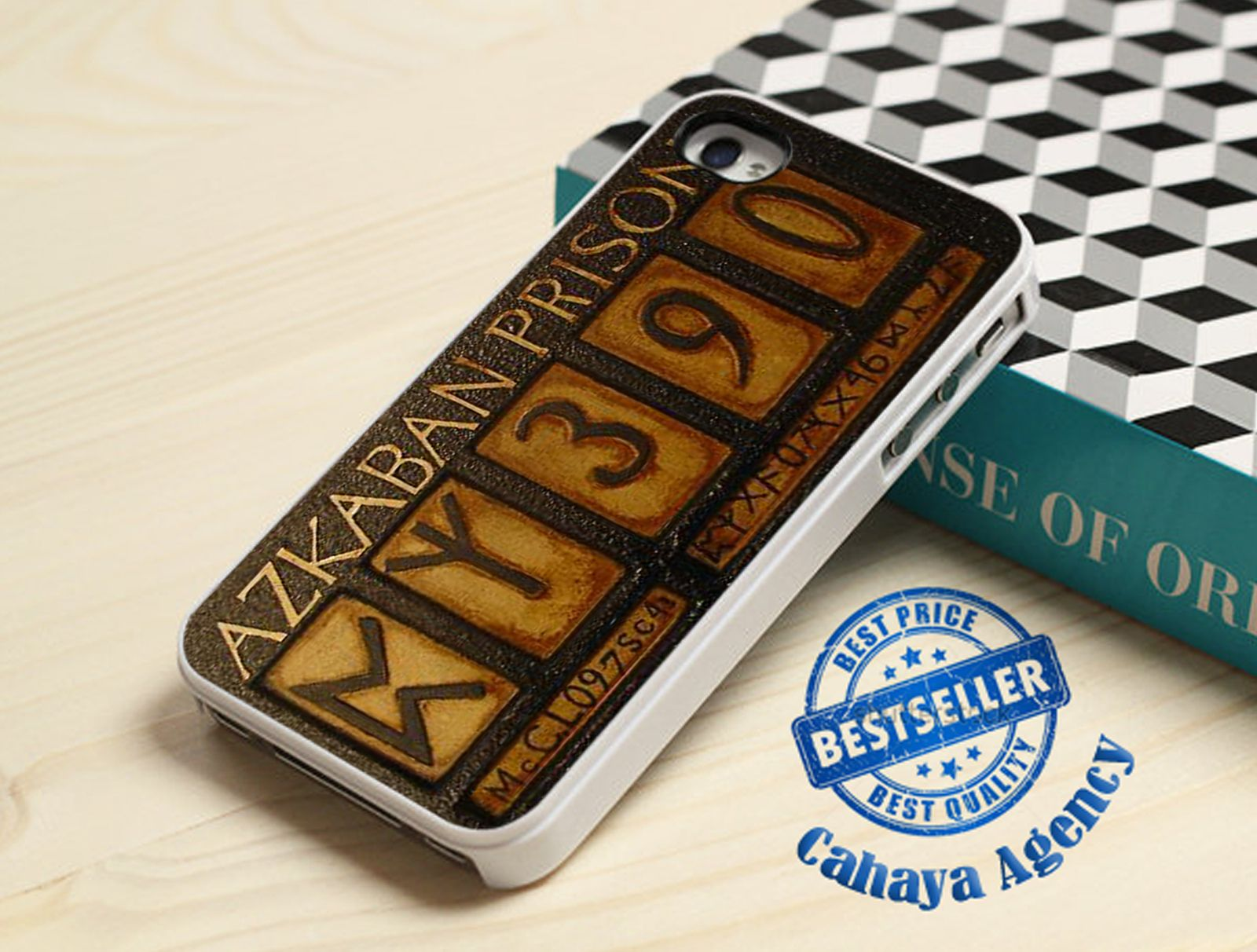 Harry Potter Azkaban iPhone 4,4s,5,5s,5c,6,6 plus,Samsung S3,S4,S5,iPod 4.5 Case