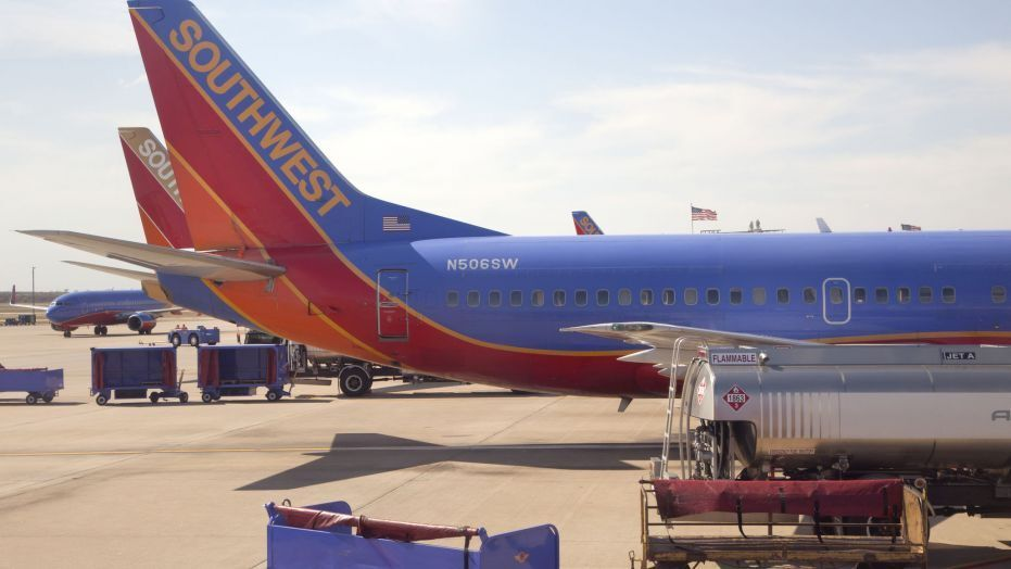 Two Southwest Airlines planes collide while backing away