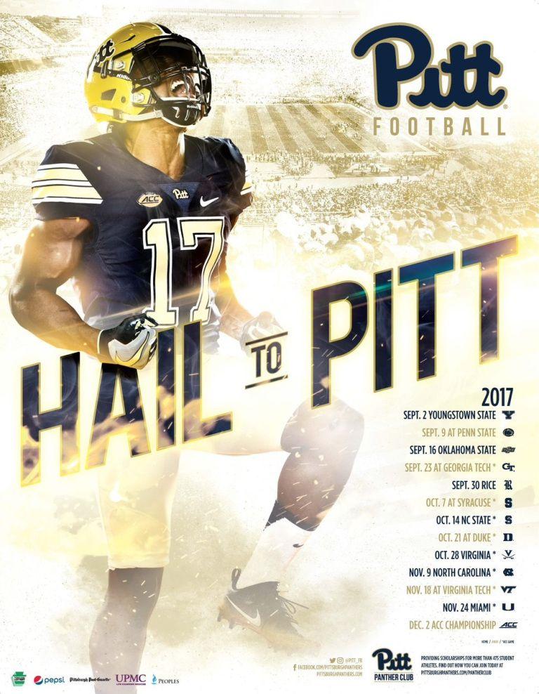 Top50 2017 FBS Football Schedule Posters