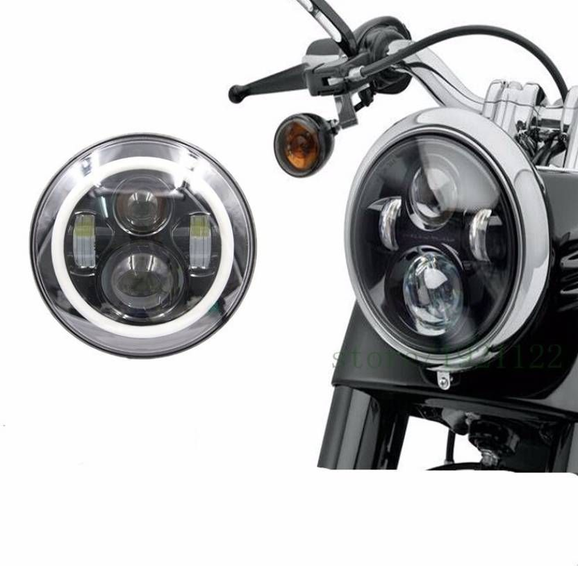 Modified Royal Enfield Led Headlight Led Headlamp Royal Enfield