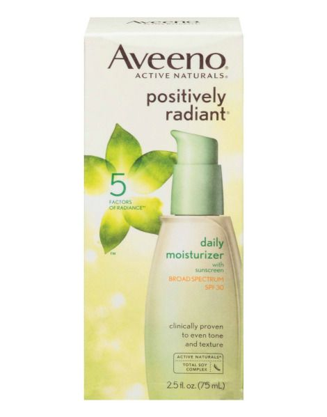 The 12 Best Moisturizers With Spf Stylecaster Daily Moisturizer Drugstore Facial Moisturizer Aveeno Positively Radiant