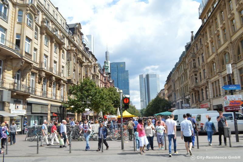 Wohnen auf Zeit Frankfurt. City Residence Frankfurt ist