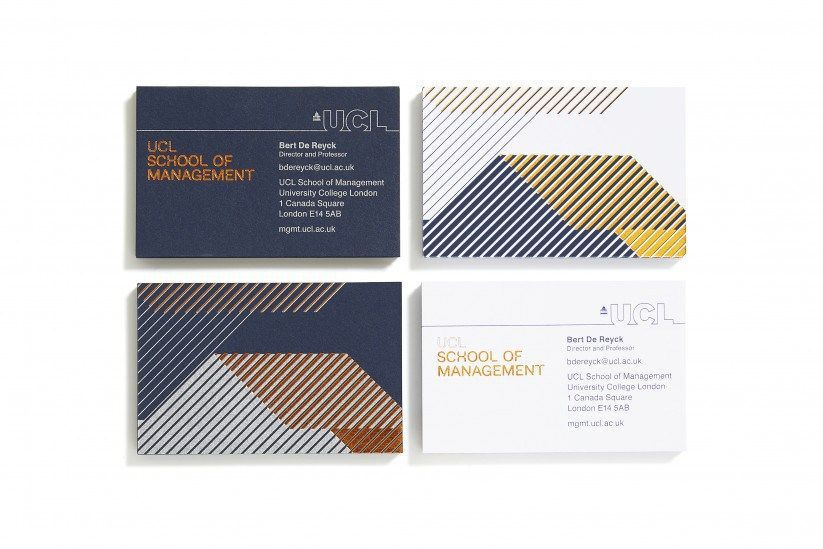 Ucl Business Card Design Inspiration Card Nerd Identity Card Design Business Card Design Inspiration Business Card Inspiration