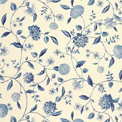 At Calico Corners NASSAU VINE TOILE PORCELAIN - Blue - Shop By Color - Fabric -  $17.99.   This is just cotton.