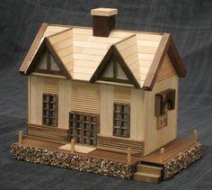 Membuat Rumah Mainan Dari Stik Es Krim Kerajinan Pinterest