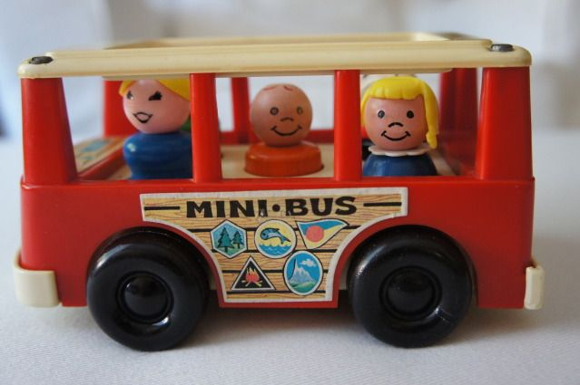 Anne's Odds and Ends: Fisher Price Fridays - Mini Bus