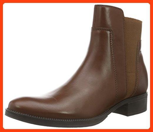 billigt till salu försäljning online billigt pris Geox Damen D Mendi Stivali A Chelsea Boots, Braun (BROWNC0013 ...
