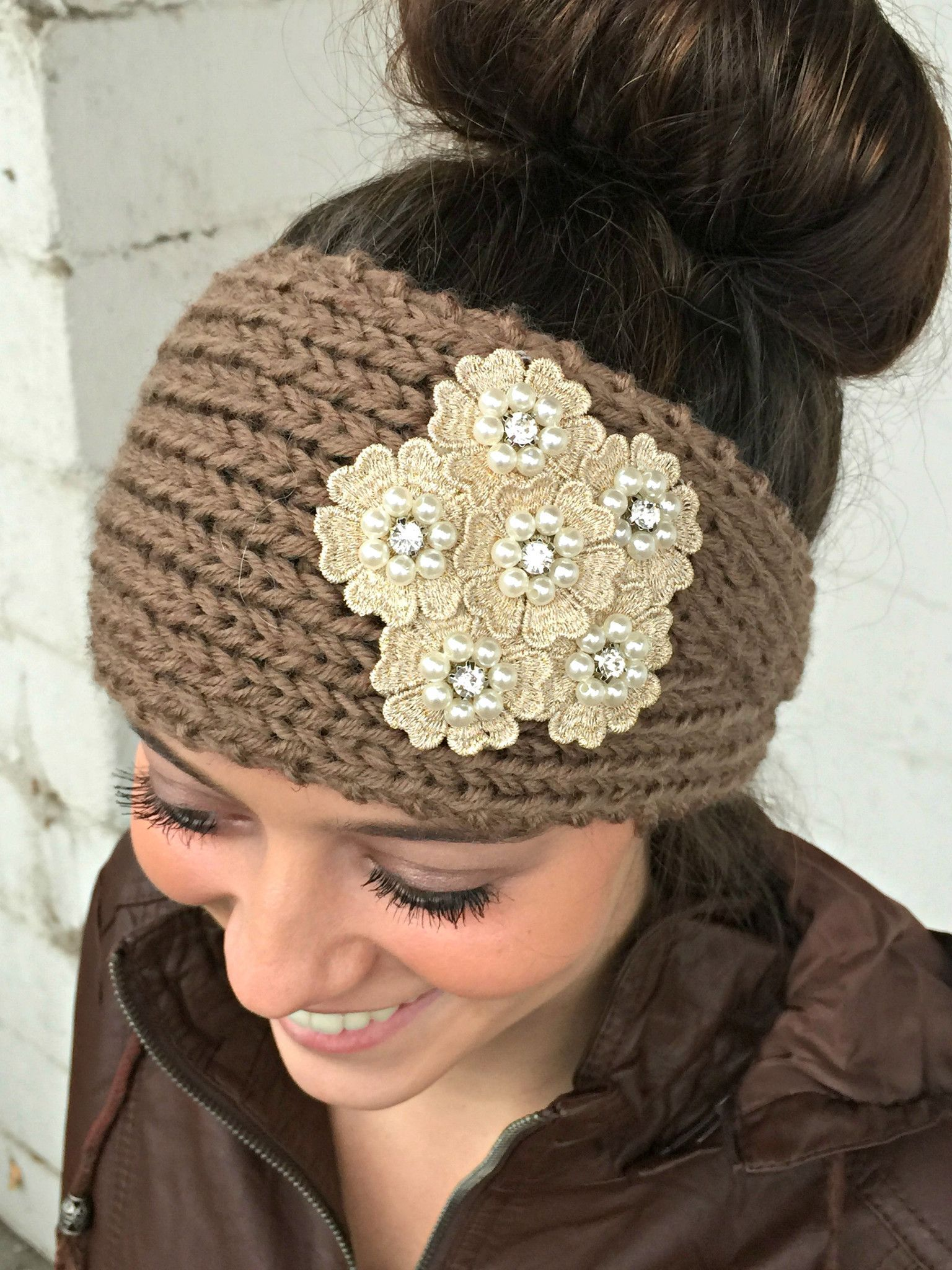 Knit Headband/Earwarmer | Fashion | Pinterest | Knitted headband ...
