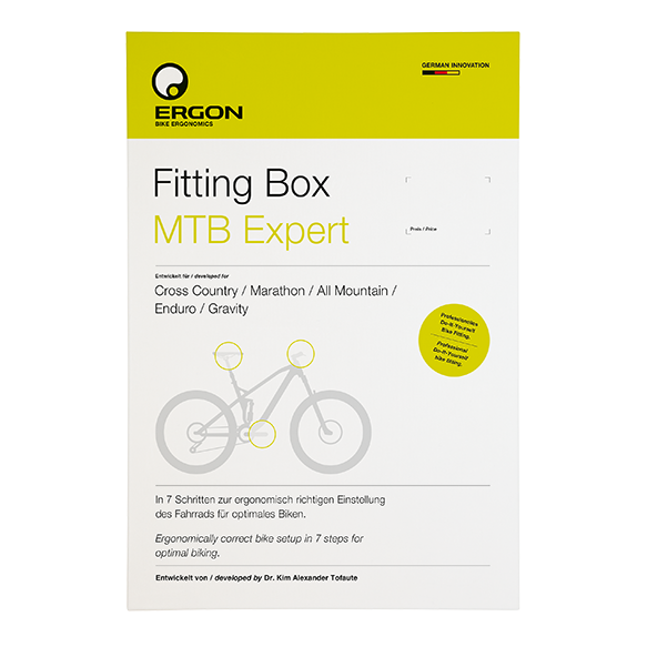 Ergon Fitting Box MTB Expert Ergon  #ergonbike #ergon #ergonomics #fitting #fittingbox