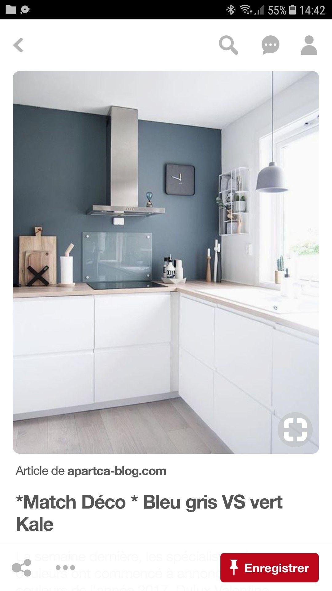 Couleur Mur Cuisine Blanche Et Grise couleur mur | idée déco cuisine, cuisine blanche et cuisines