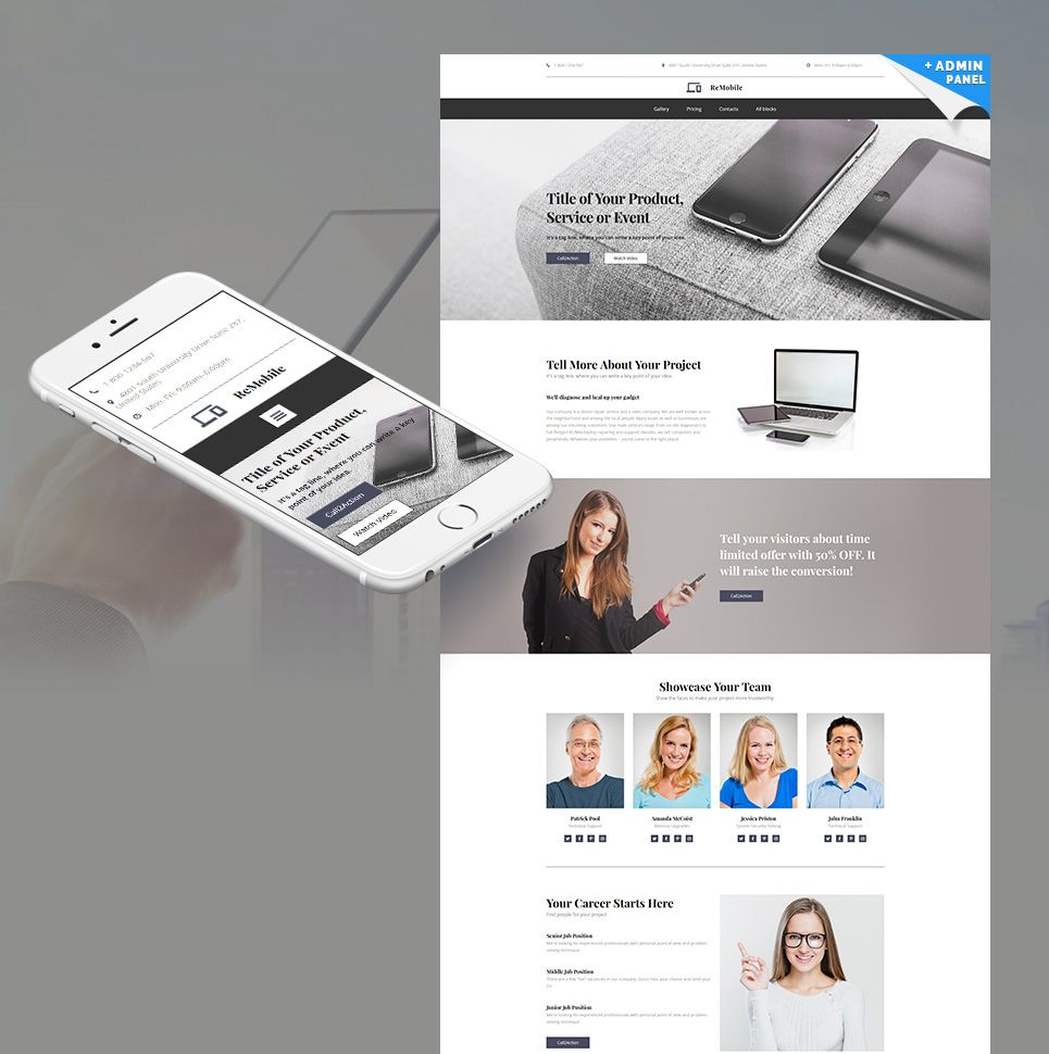 Pretty Event Landing Page Template Pictures Inspiration ...