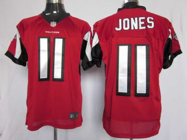 19697b1e Jones Jersey: Nike Elite #11 Atlanta Falcons Jersey in red ID ...