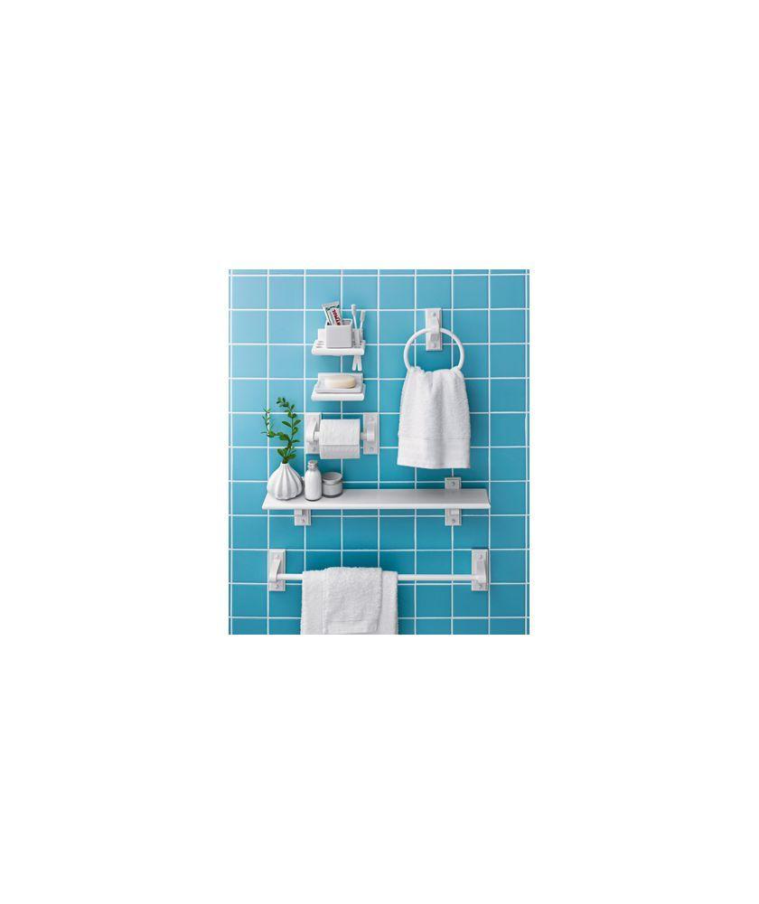 Buy Wooden 6 Piece Bathroom Accessory Set - White at Argos.co.uk ...