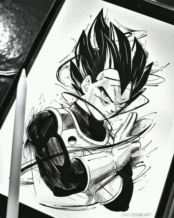 Video Desenhe Seus Personagens Favoritos Dragon Ball Tattoo