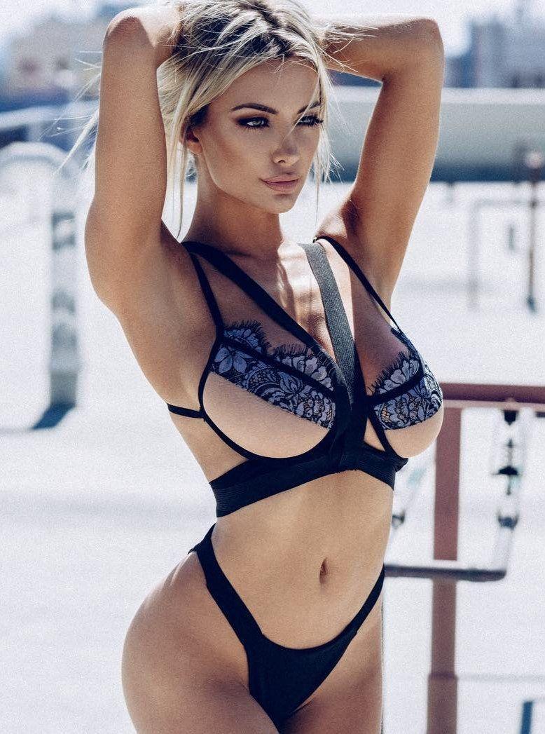 Floss front bikini