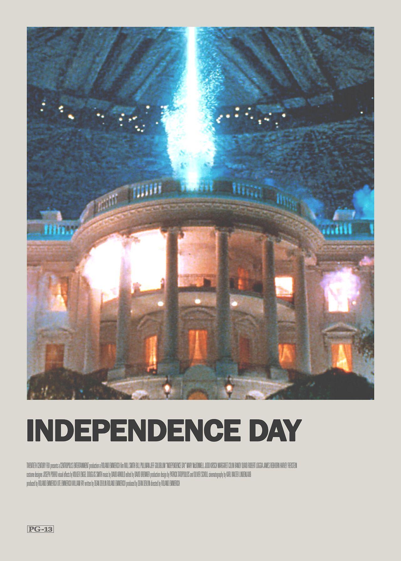Independence Day Minimal Movie Poster Movie Posters Minimalist