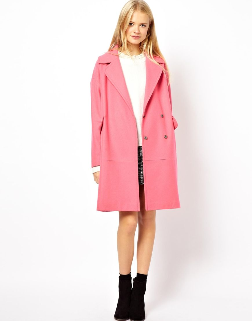 Wardrobe Coat For Asos Picks Pinterest Pink The Perfect c4Oq5YOw