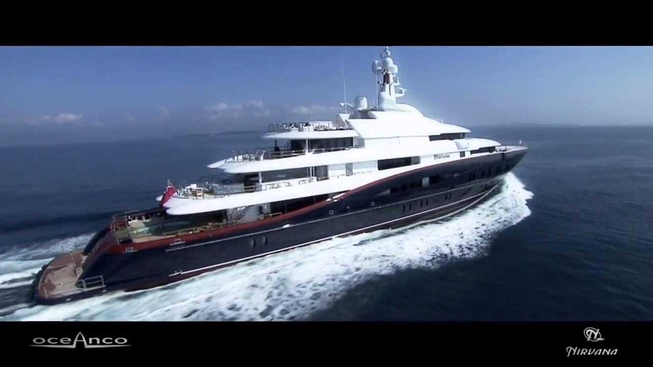 Nirvana yacht charter price oceanco luxury yacht charter - Nirvana 89m Oceanco Mega Yacht 1080 Hd