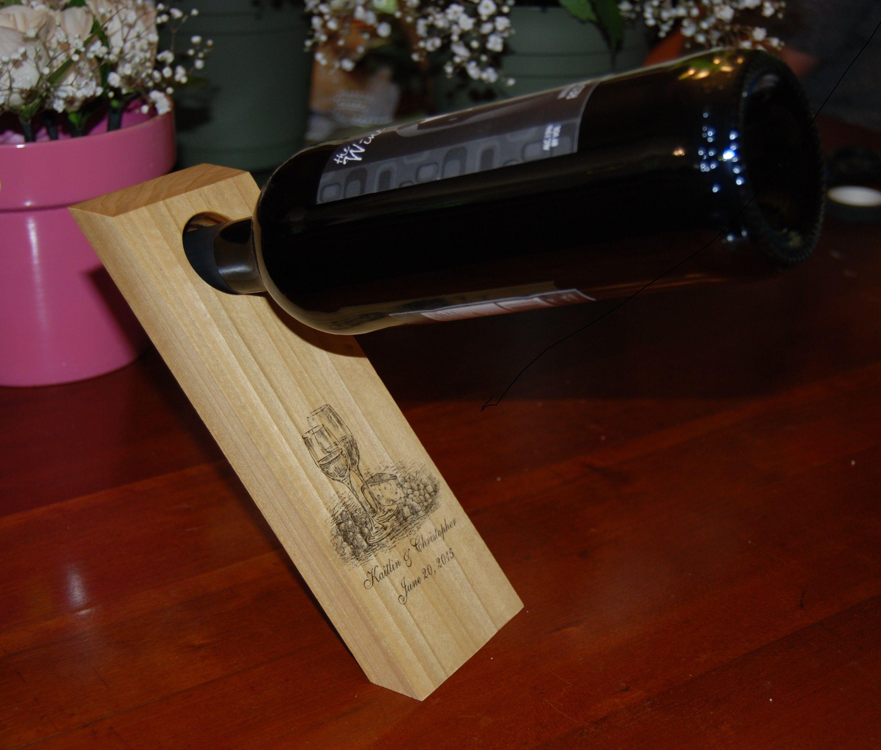 Easy wine bottle holder complete diy woodworking plans