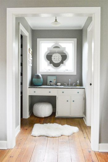Bathroom Mirrors Over Windows our second house | mirror hanging, vanities and window