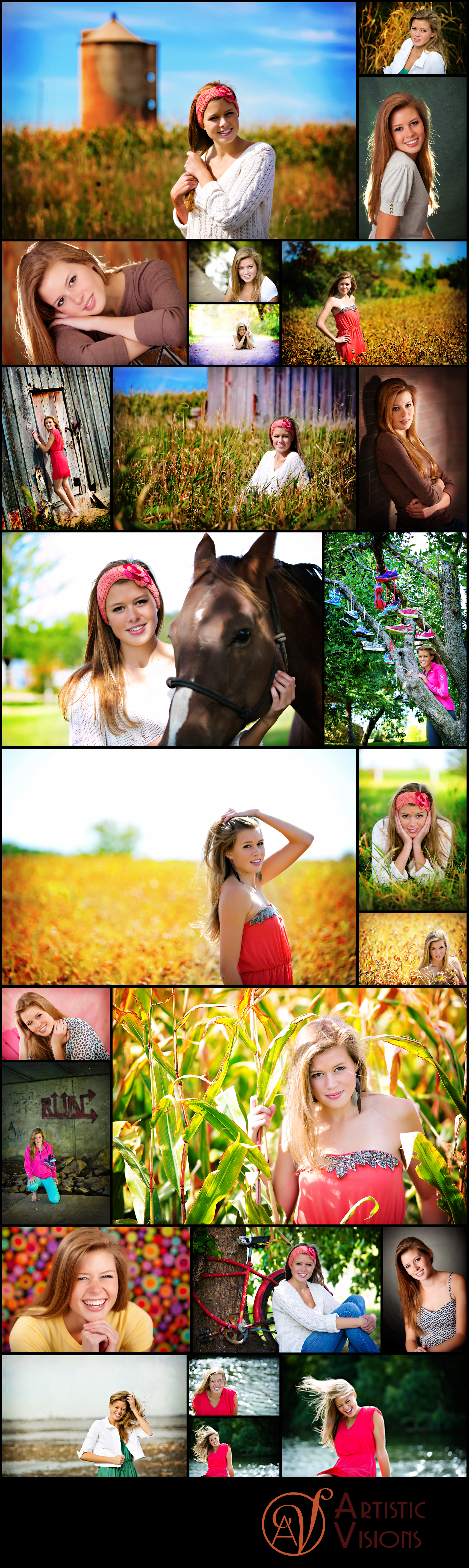 Abbie - Artistic Visions Green Bay Wisconsin Senior Portraits - Artistic Visions