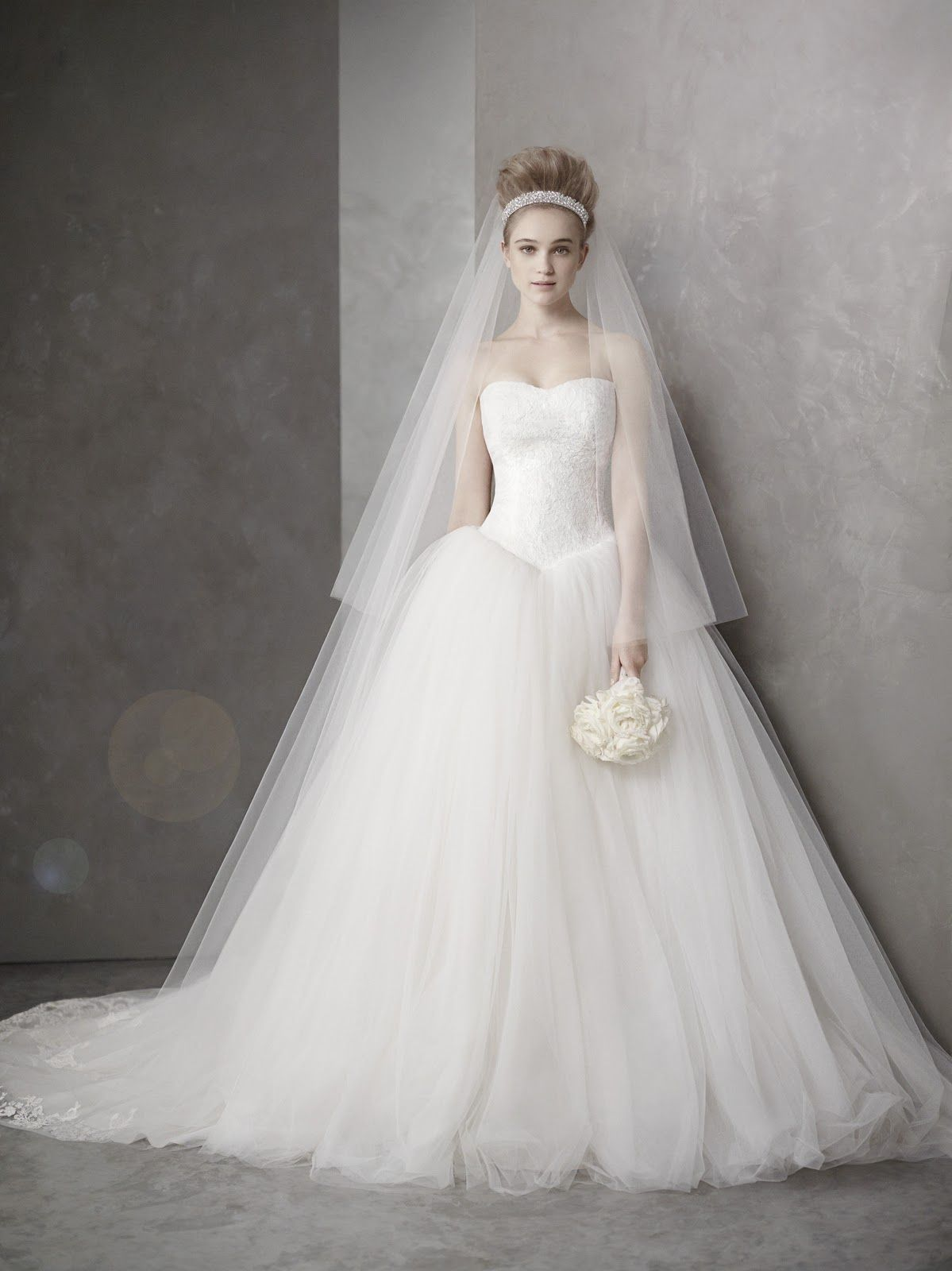 Vera Wang White Collection Wedding Dress White Wedding
