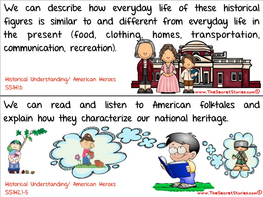 Cutest EVER Common Core SOCIAL STUDIES STANDARDS Posters For
