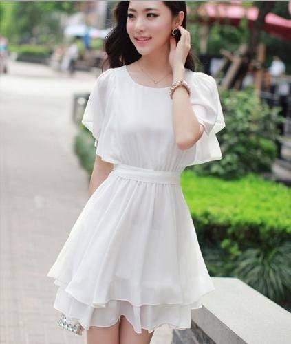 ddddcd61be Vestidos juveniles coreanos - Imagui