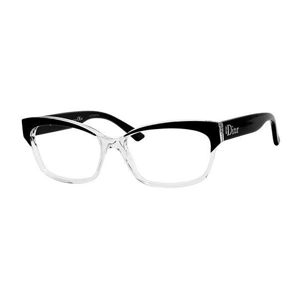 056d6a293d2 Christian Dior C.DIOR 3197 Eyeglasses Eyewear ❤ liked on Polyvore ...