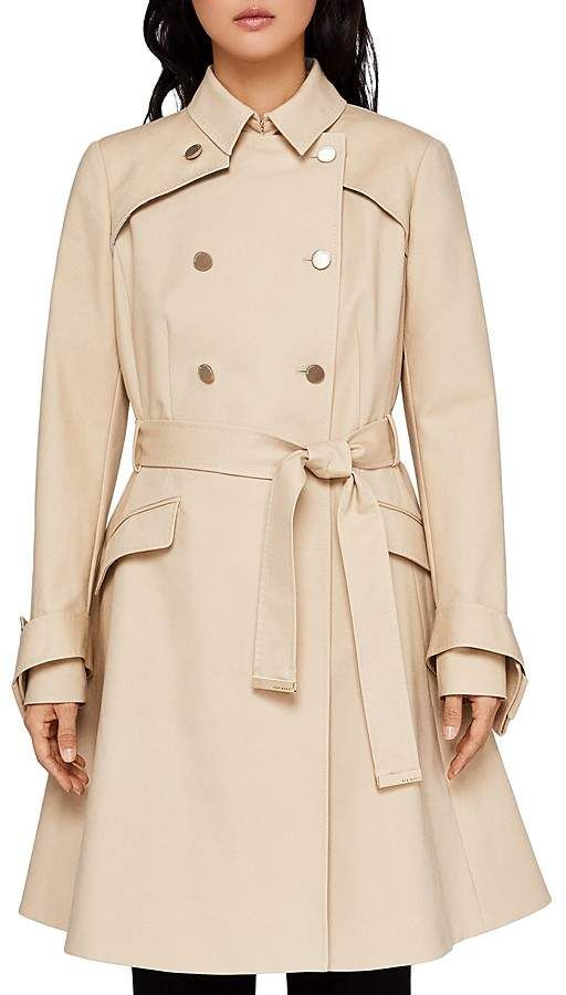 e55512634 Ted Baker Marrian Flared Trench Coat