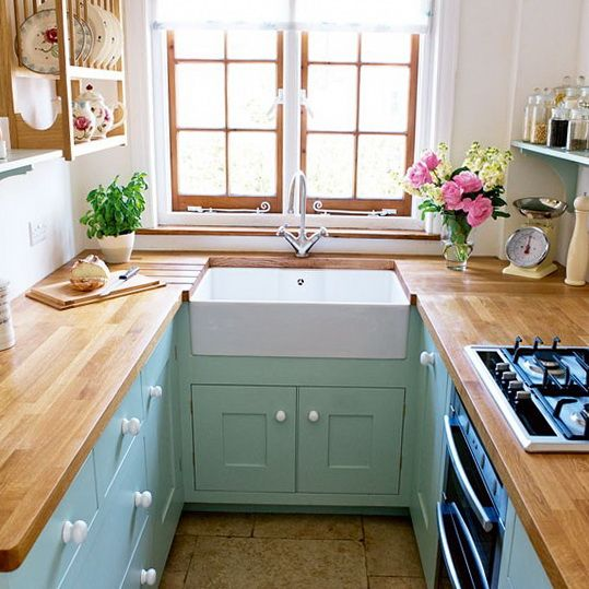 "Small Kitchen Space Saving Ideas love this idea of a kitchen that you ""wear' almost like the one"