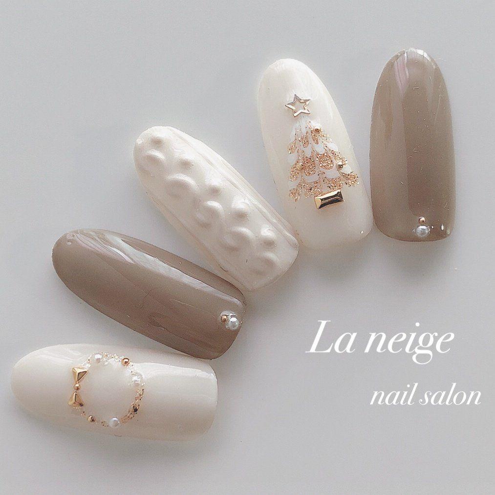 冬/クリスマス/デート/女子会/ハンド - La neigeのネイルデザイン[No.3747939]