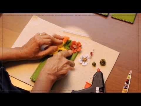 """Creative kit - """"Portaocchiali in feltro (Mod. Cuccioli)"""""""