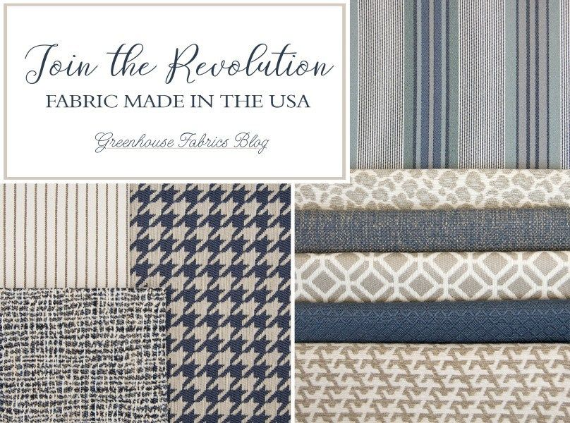 Upholstery Fabric that is Made in the USA | Greenhouse ...