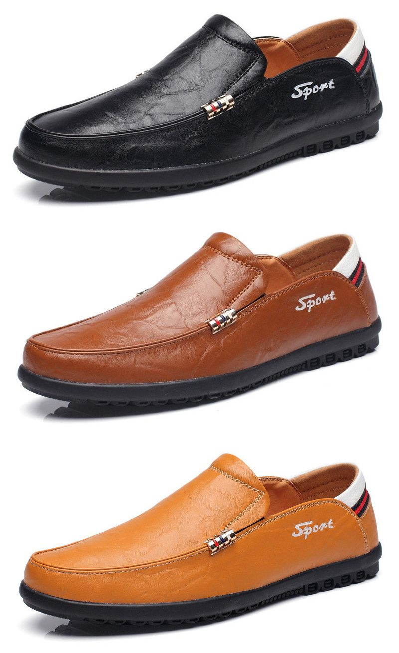 792a75d00 Men Rivet Decoation Soft Slip On Driving Loafers Casual Leather Shoes  Vestir Elegante Hombre, Ropa