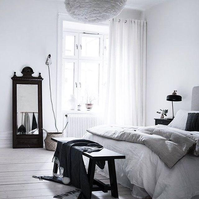 Pin von Nur Bülbüloğlu auf interior design ✎ Pinterest - minimalismus schlafzimmer in weis