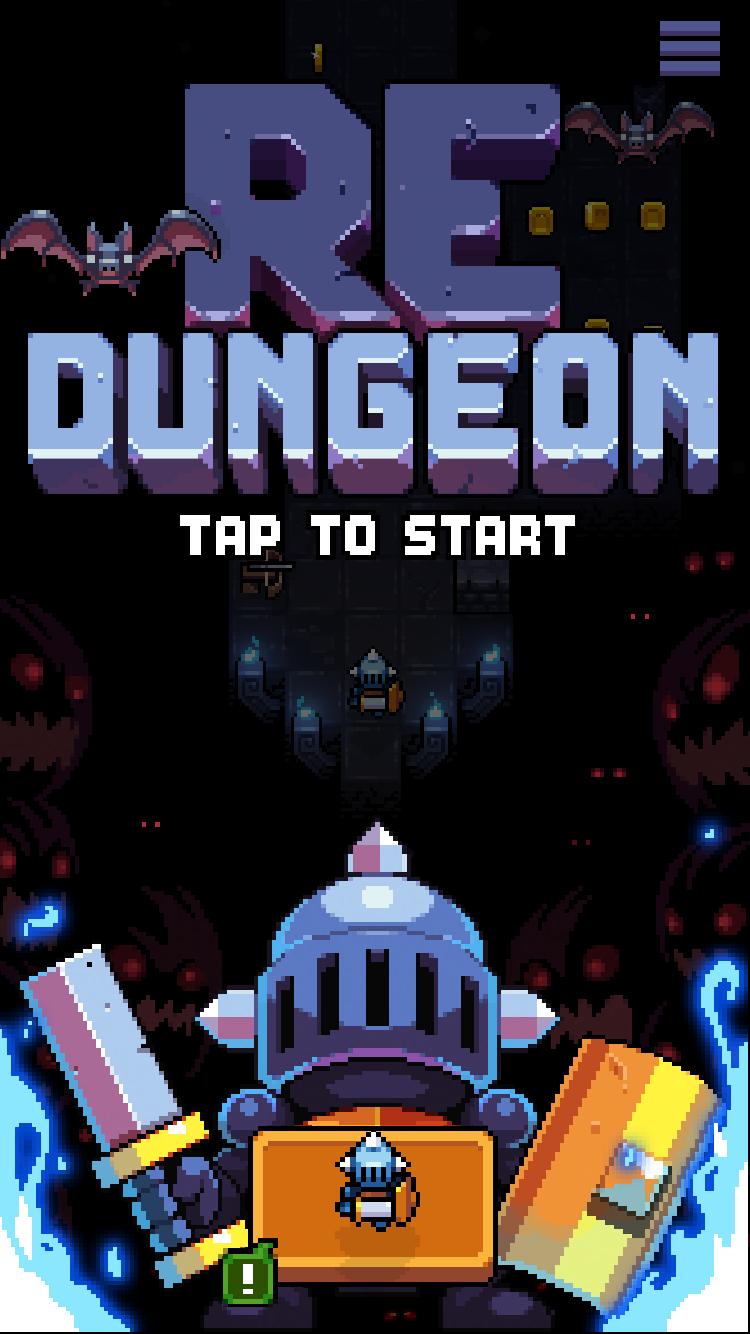Redungeon: endless arcade dungeon runner by Eneminds