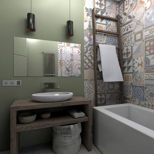BAGNO STILE INDUSTRIALE - Cerca con Google  STYLE I industrial  Pinterest  Bathroom layout ...