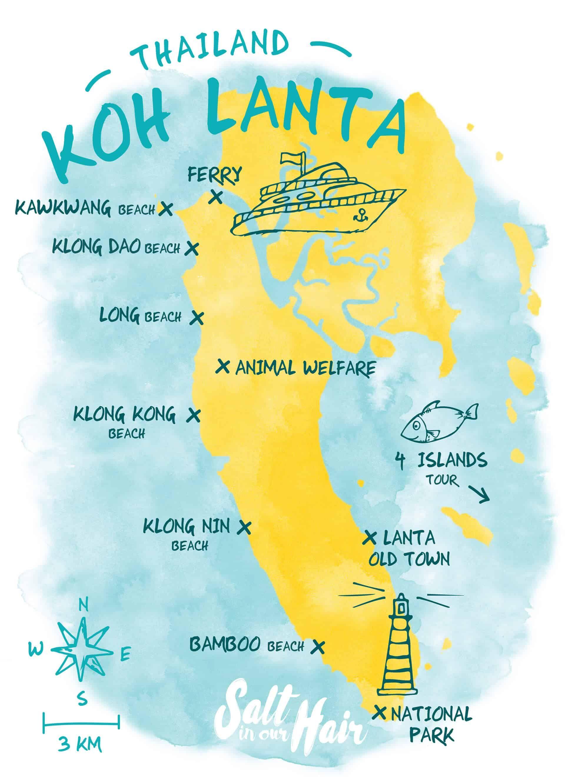 KOH LANTA BEACHES Thailand travel, Thailand adventure