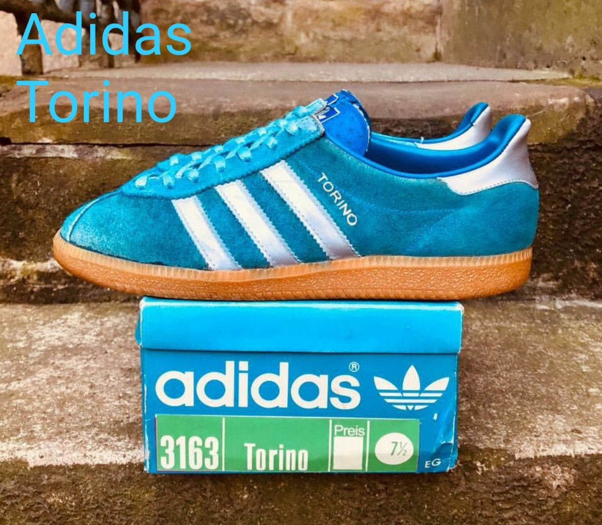 new styles bd2ef 83ca7 Lovely pair of Adidas Torino + the original box | SPL in ...