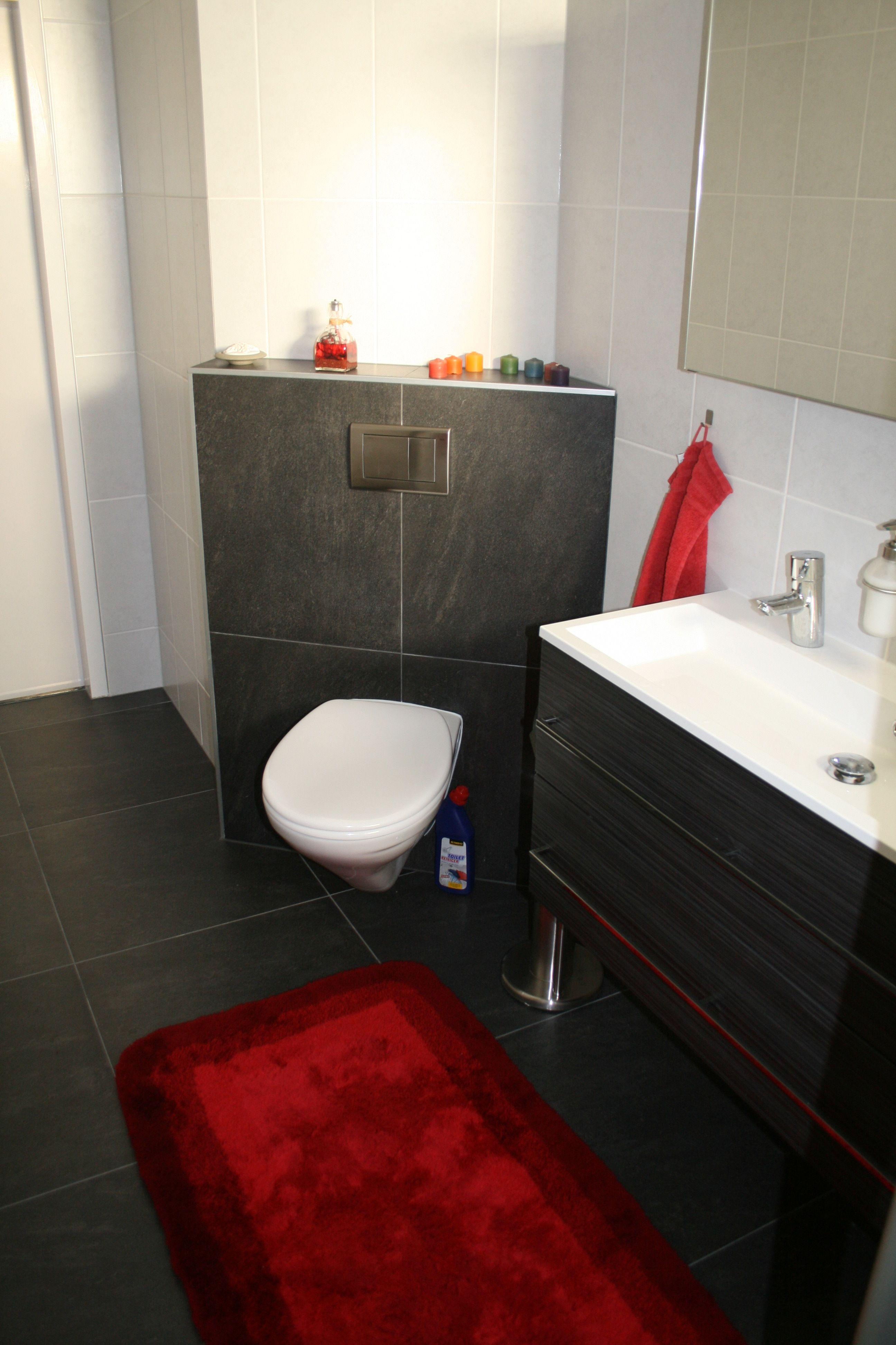 hoekoplossing voor toilet in de badkamer badkamers pinterest